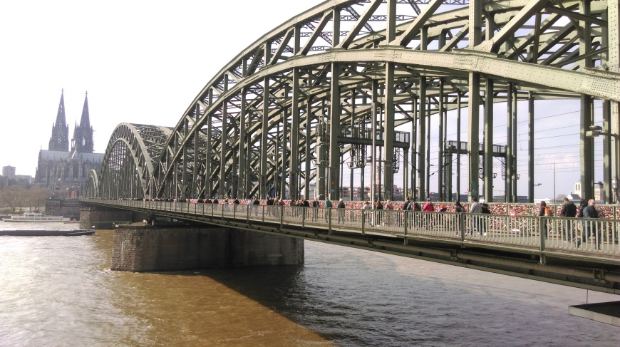 Cologne - Cathedral and Hohenzollern Bridge