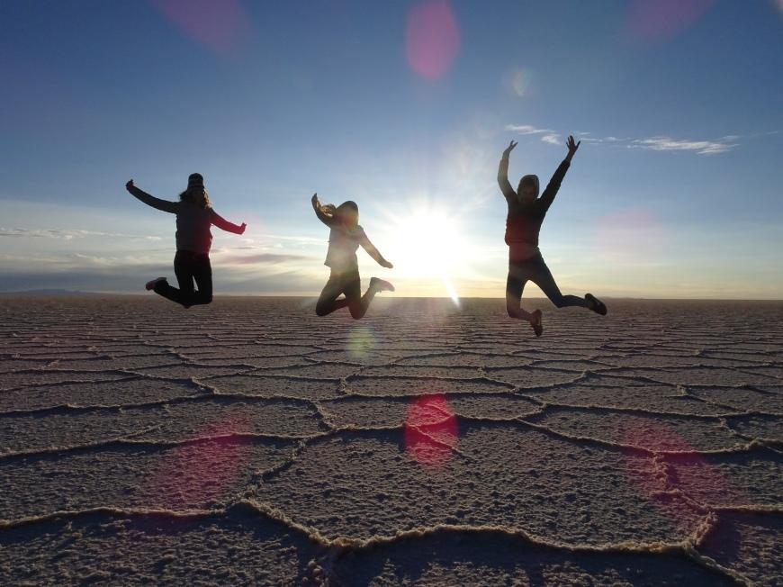 Salar de Uyuni - Sunrise