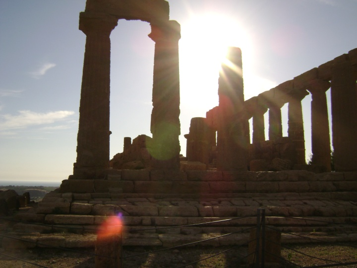 The Valley of the Temples in Agrigento
