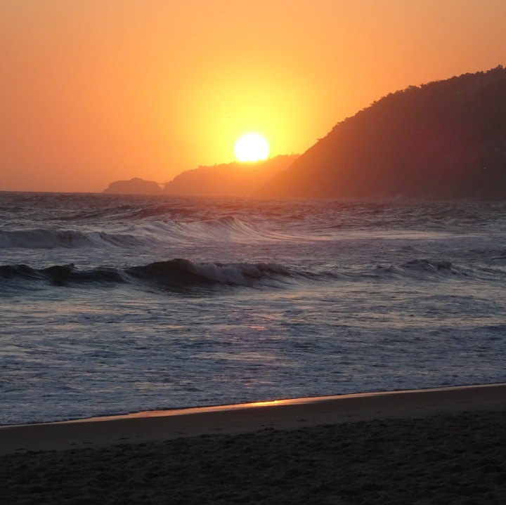 Ipanema - sunset