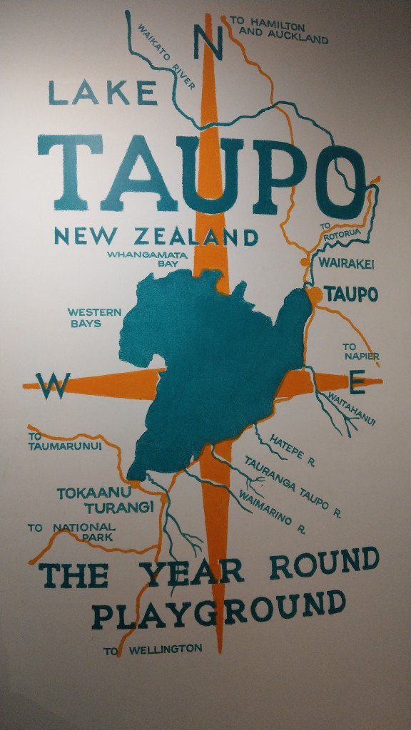 Taupo Map