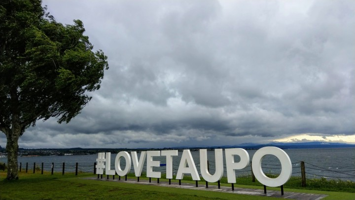 #LoveTaupo sign