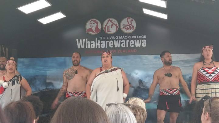 Whakarewarewa - Cultural performance